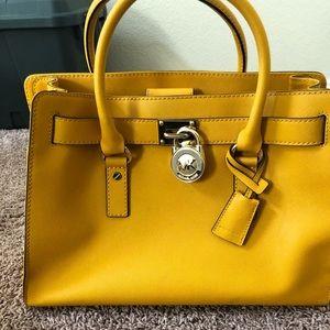 MK satchel and Matching wristlet